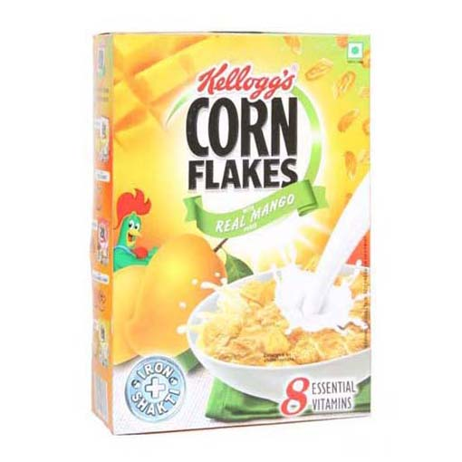 Flakes With Mango