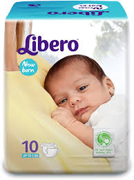 NEW BORN UP TO5 KG-Diapers